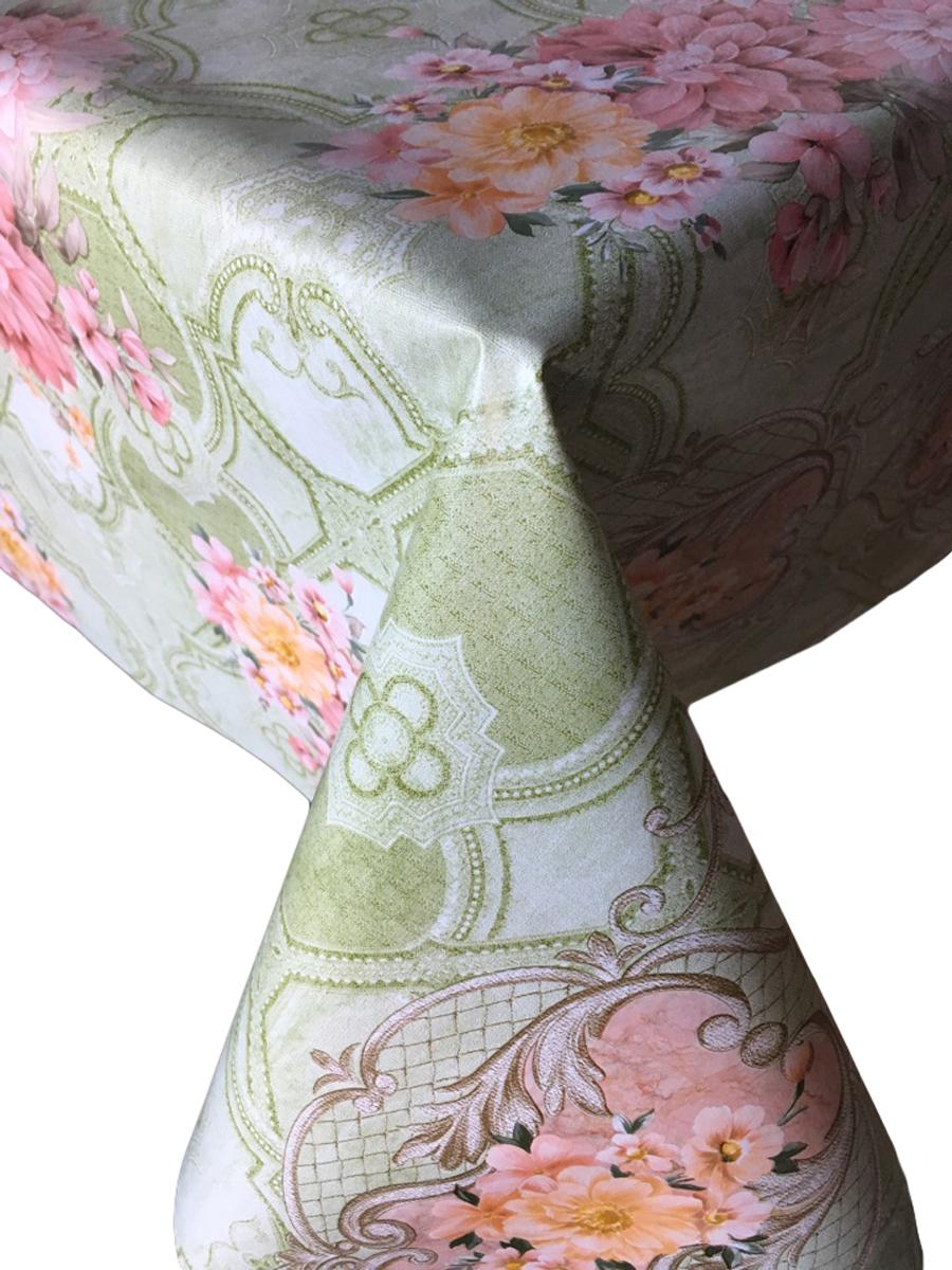 Клеенка столовая L'Cadesi Florista, прямоугольная, 100 х 140 см. FL100140-379-04