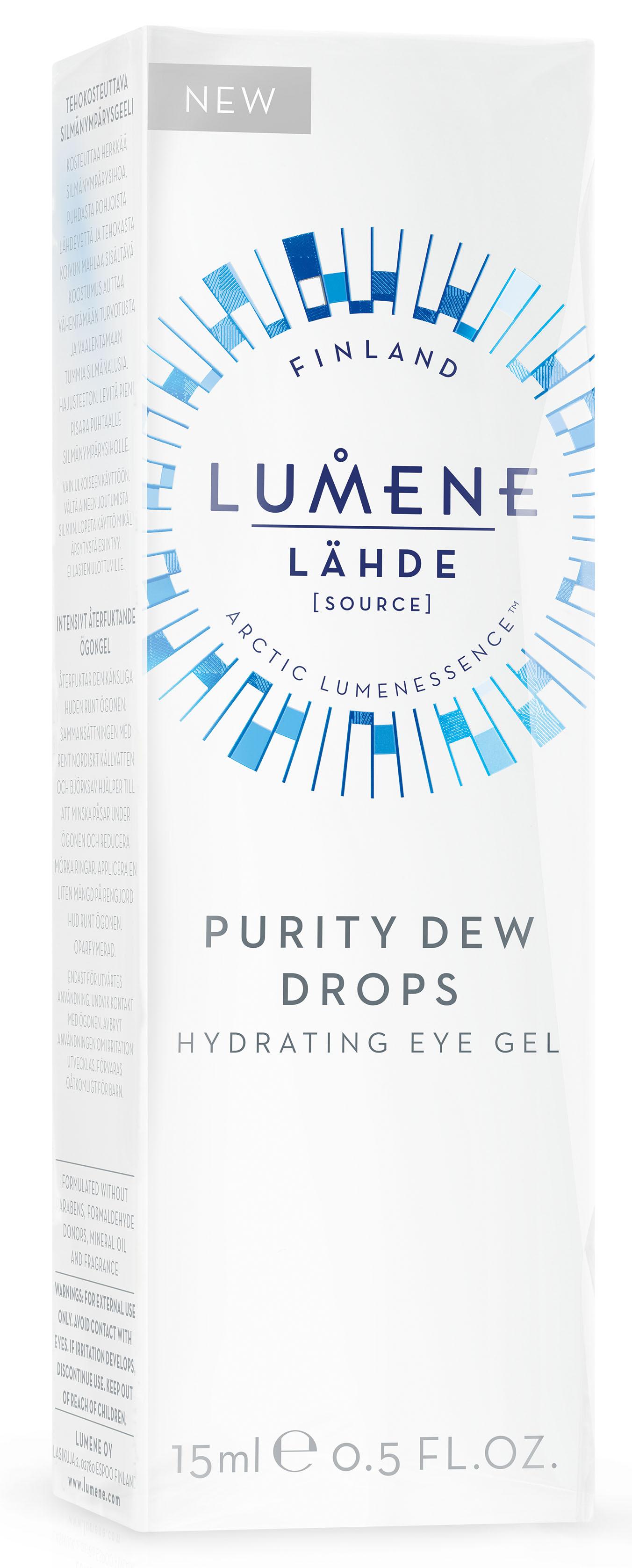 Lumene Lahde Увлажняющий гель для области вокруг глаз, 15 млNL580-80321Средство без отдушек сокращает темные круги под глазами, открывая естественное сияние вашей красоты. Действие природных ингредиентов геля усилено особой увлажняющей технологией, обеспечивающей непрерывное увлажнение в течение дня. Провитамин B5 заботится о нежной области вокруг глаз, а натуральный березовый сок и чистейшая арктическая родниковая вода мягко увлажняют, мгновенно придавая коже здоровый вид.