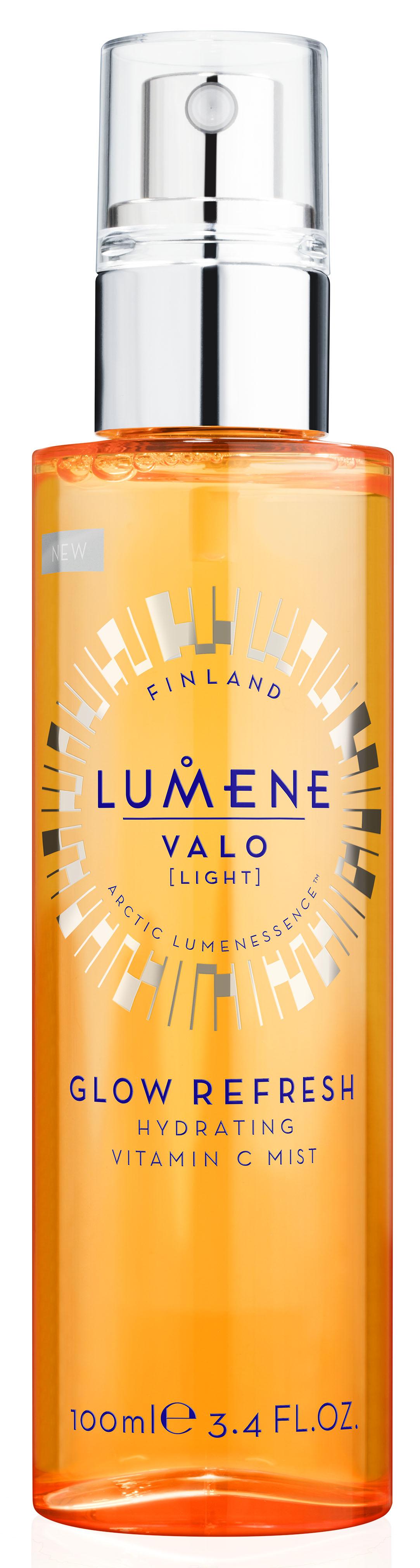 Lumene Valo Увлажняющая освежающая дымка для лица Vitamin C, 100 мл lumene valo дневной крем spf 15 vitamin c 50 мл