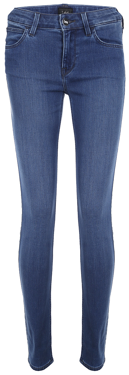 Джинсы женские Lee Scarlett, цвет: синий. L526RKUK. Размер 24-31 (40-31)L526RKUKЖенские джинсы от Lee выполнены из эластичного хлопкового денима. Джинсы-слим зауженного кроя и стандартной посадки застегиваются на пуговицу в поясе и ширинку на застежке-молнии, дополнены шлевками для ремня. Джинсы имеют классический пятикарманный крой: спереди модель дополнена двумя втачными карманами и одним маленьким накладным кармашком, а сзади - двумя накладными карманами.