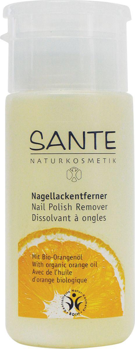 Sante Натуральная жидкость для снятия лака, 100 мл - Декоративная косметика