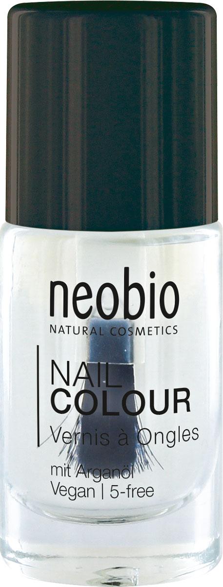 Neobio Лак для ногтей 5-Free с аргановым маслом, база и закрепляющее покрытие, №01 Волшебное сияние, 8 мл