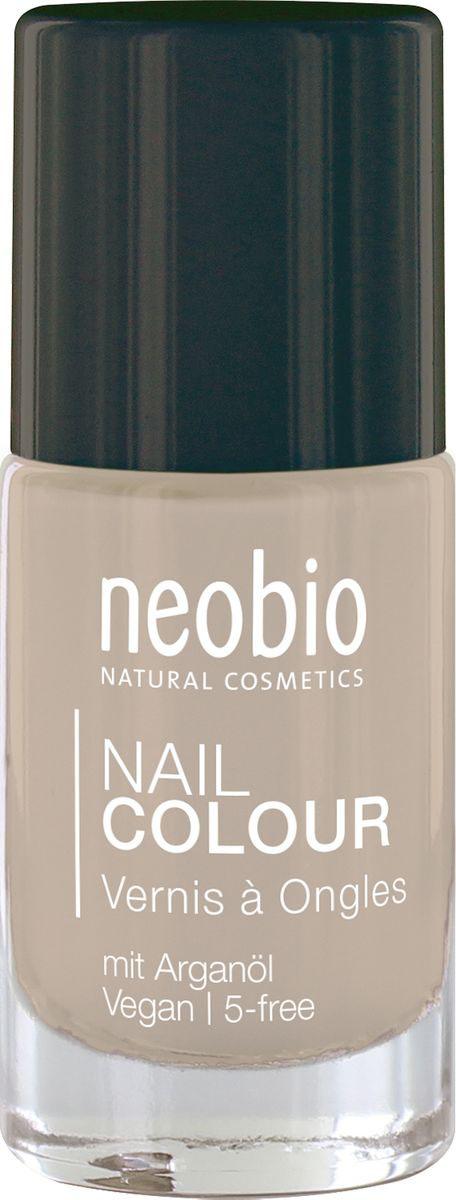 Neobio Лак для ногтей 5-Free с аргановым маслом, №10 Идеальный телесный, 8 мл iq beauty спа уход для ногтей и кутикулы 5 в 1 12 5 мл