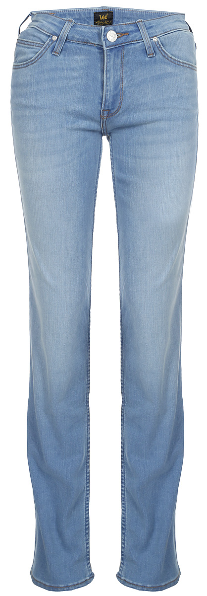 Джинсы женские Lee Marion Straight, цвет: синий. L301HAUF. Размер 33-33 (48/50-33) джинсы женские lee цвет синий l305aifa размер 30 35 46 35