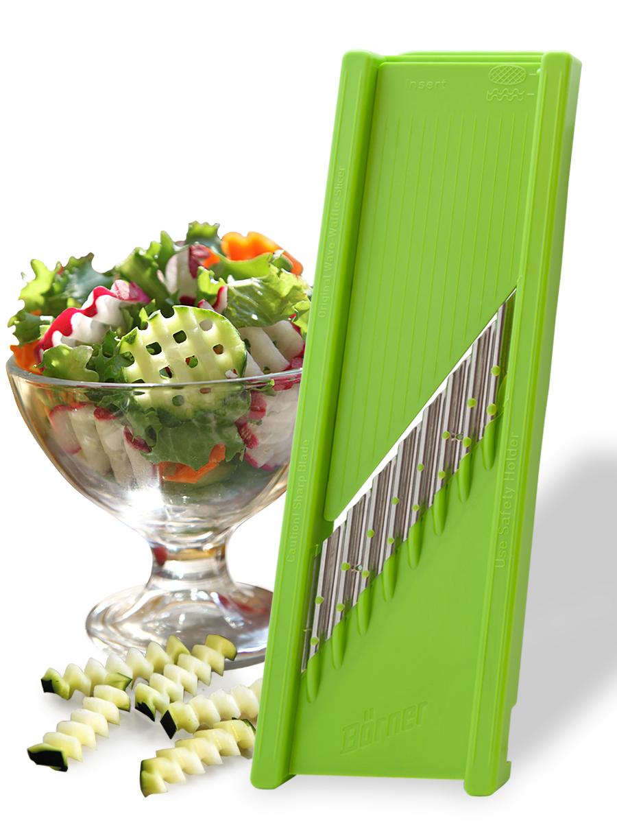 Овощерезка для декораций модель «Классика» Borner, цвет: салатовый