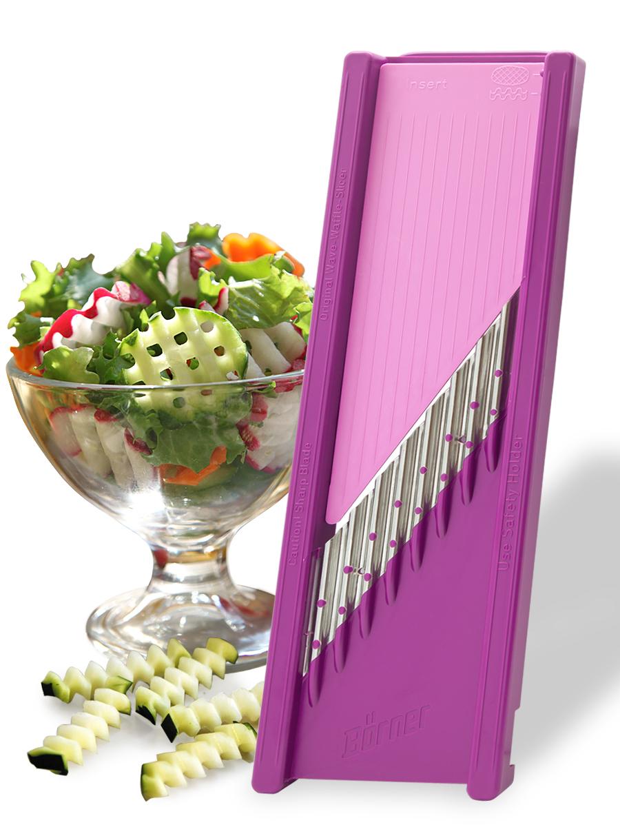 Овощерезка для декораций модель «Классика» Borner, цвет: сиреневый jk 46чайный сервиз на 6 перс райский сад pavone
