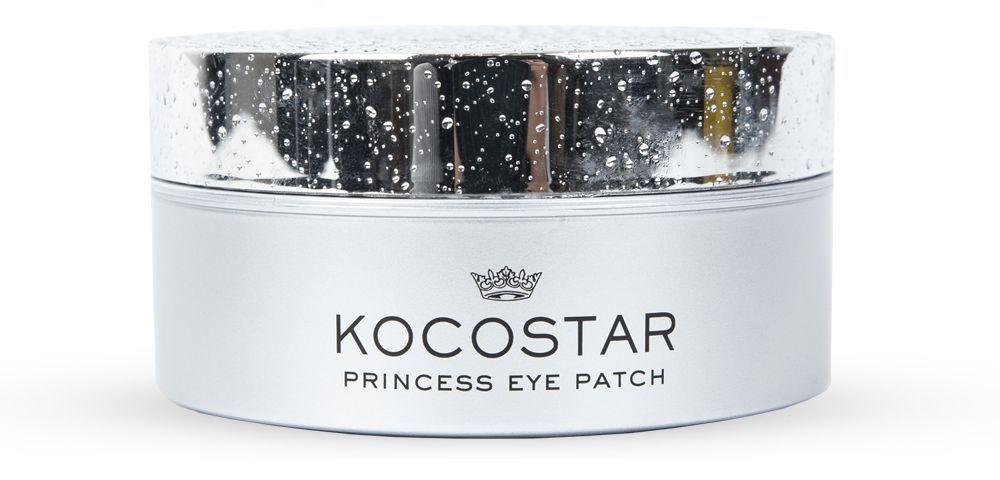 Kocostar Гидрогелевые патчи для глаз Серебро, 60 шт kocostar гидрогелевые патчи для глаз princess eye patch silver 60 патчей
