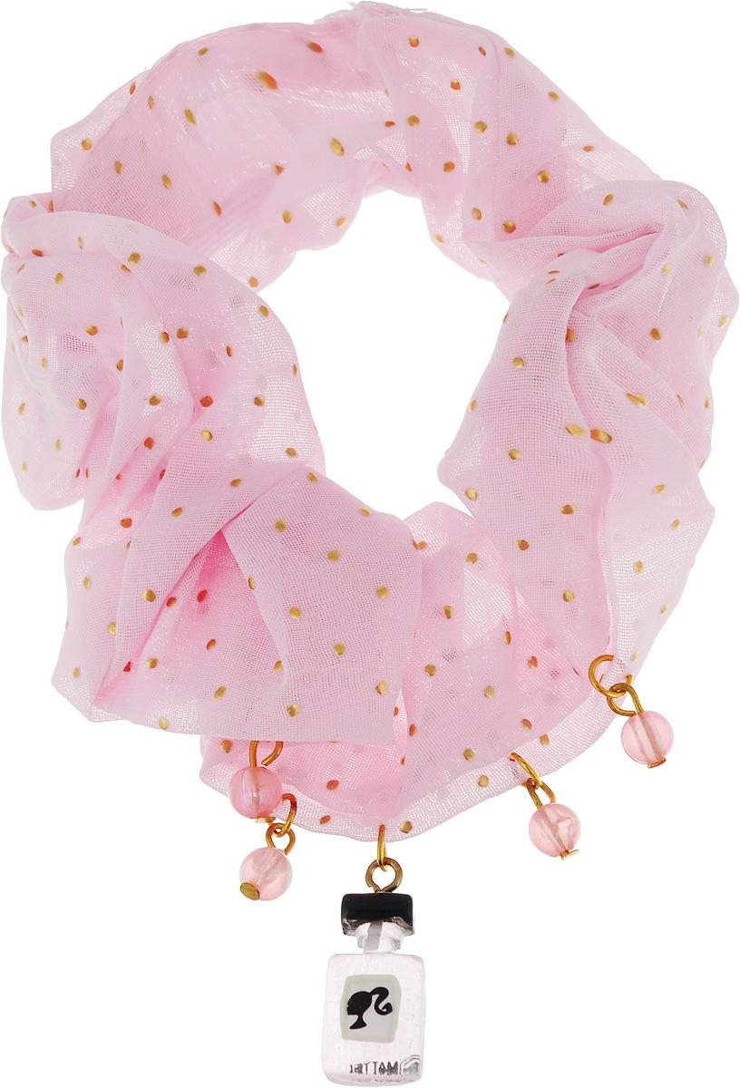 Резинка для волос Barbie, цвет: красный. 090735969073596Оригинальный аксессуар торговой марки Barbie станет изюминкой образа юной леди. Изделие изготовлено из гипоаллергенных материалов, не имеет заостренных деталей и абсолютно безопасно для ребенка. Рекомендуемый возраст: от 3х лет.