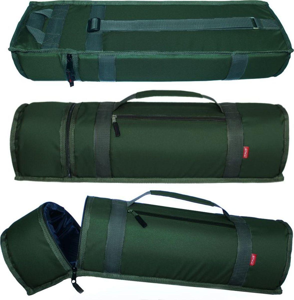 Чехол для баллона со сжатым воздухом Tplus, Cordura 900, цвет: темно-зеленый, 3 л