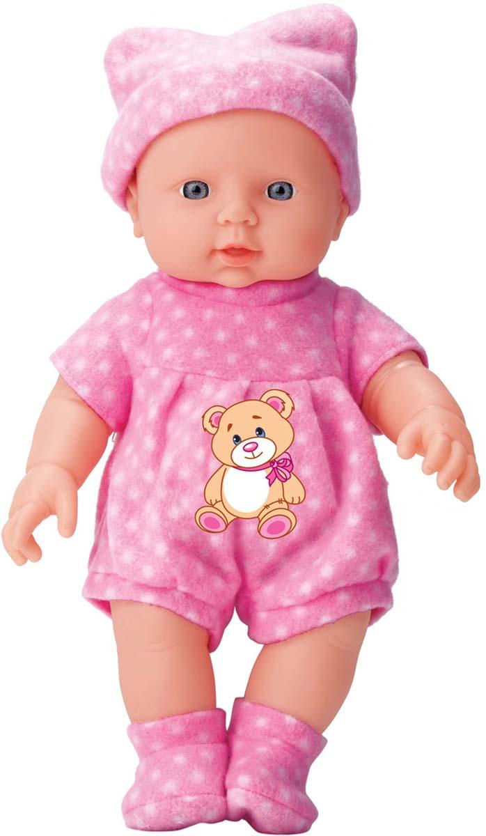 Карапуз Пупс озвученный цвет одежды розовый кремовый