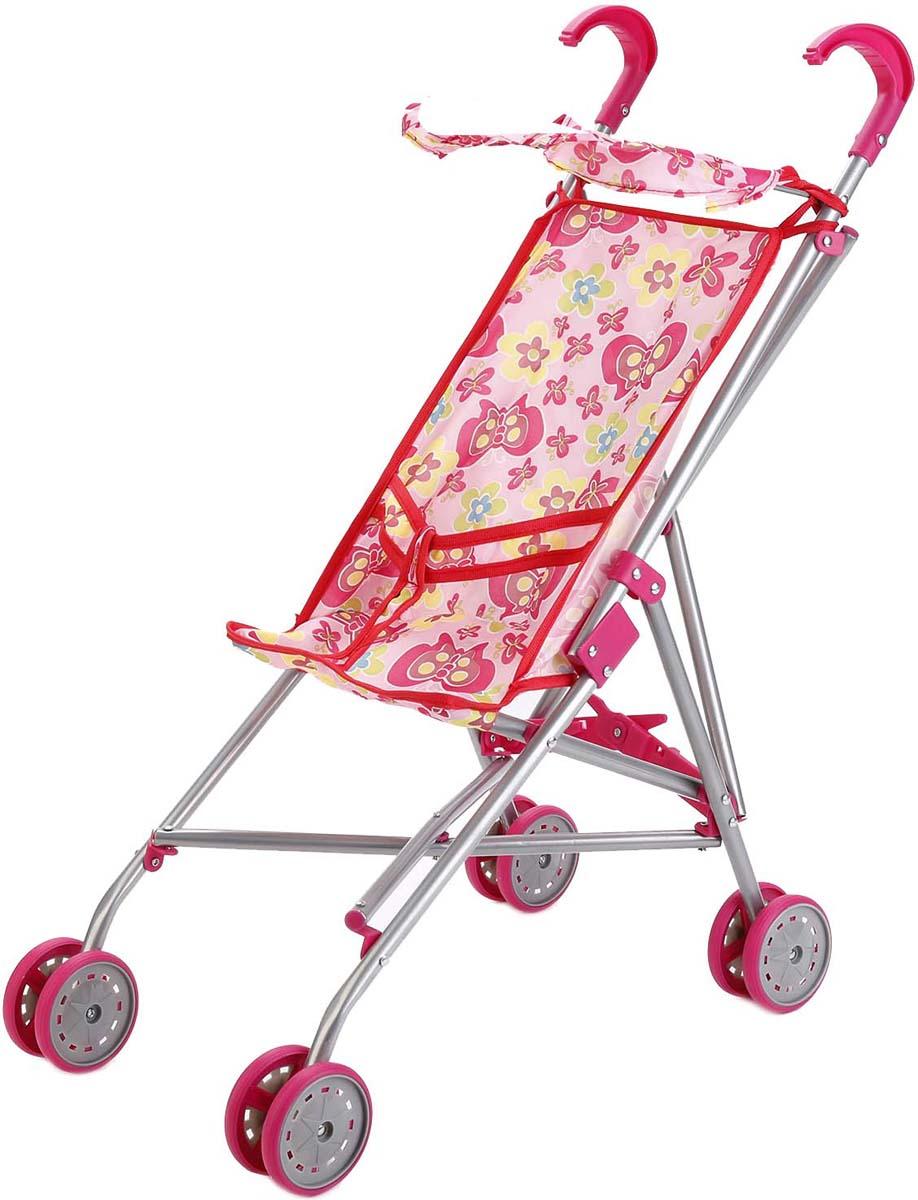 Карапуз Коляска-Трость для кукол 63ACS-C2 карапуз коляска трость для кукол 63ac c2