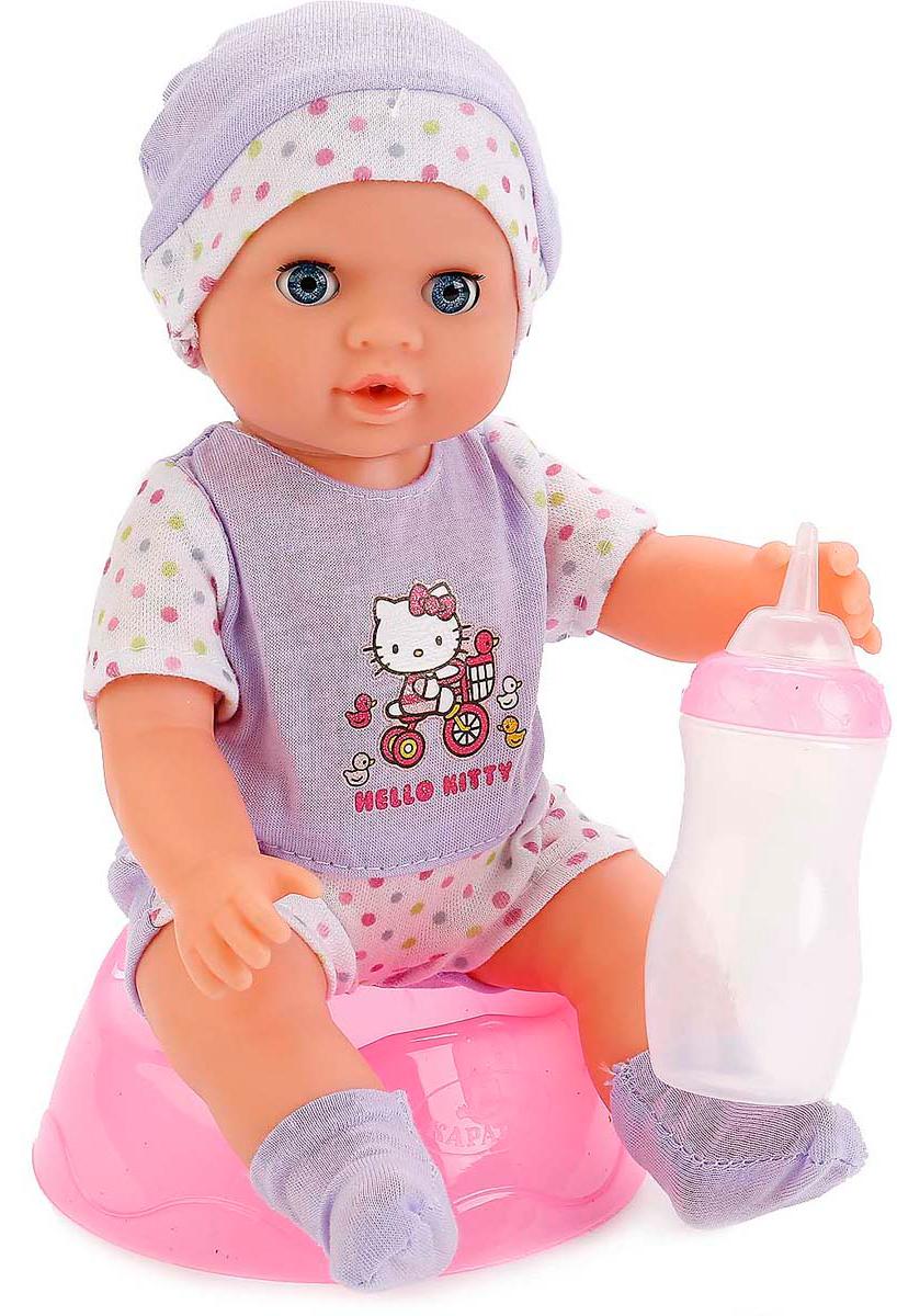 Карапуз Пупс Hello Kitty c аксессуарами 25 cм 246063 подарок девочке на 7 лет