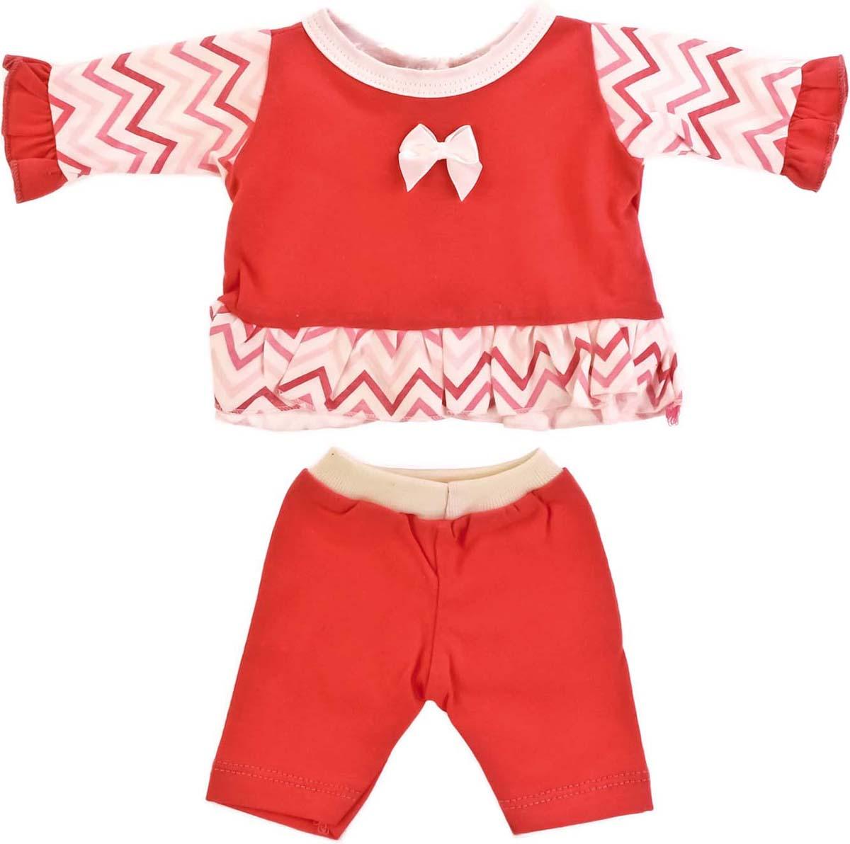 Карапуз Одежда для кукол Костюм цвет розовый куклы и одежда для кукол карапуз принцесса софия 25 см