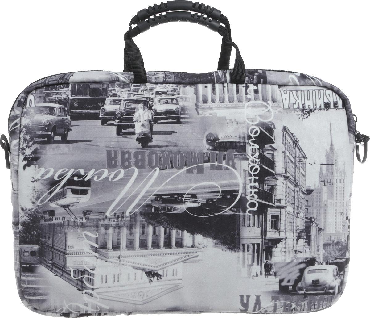 "Vivacase Moscow, Graphite сумка для ноутбука 15,6"""