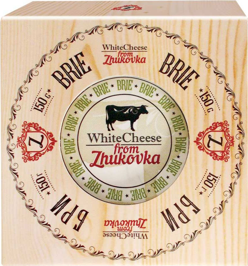 WhiteCheese from Zhukovka Сыр Бри с белой плесенью 60%, 150 г alti сыр бри 60% 125 г