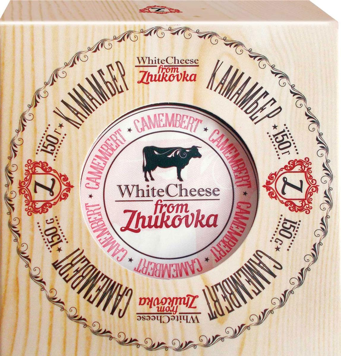 где купить WhiteCheese from Zhukovka Сыр Камамбер с белой плесенью 50%, 150 г по лучшей цене