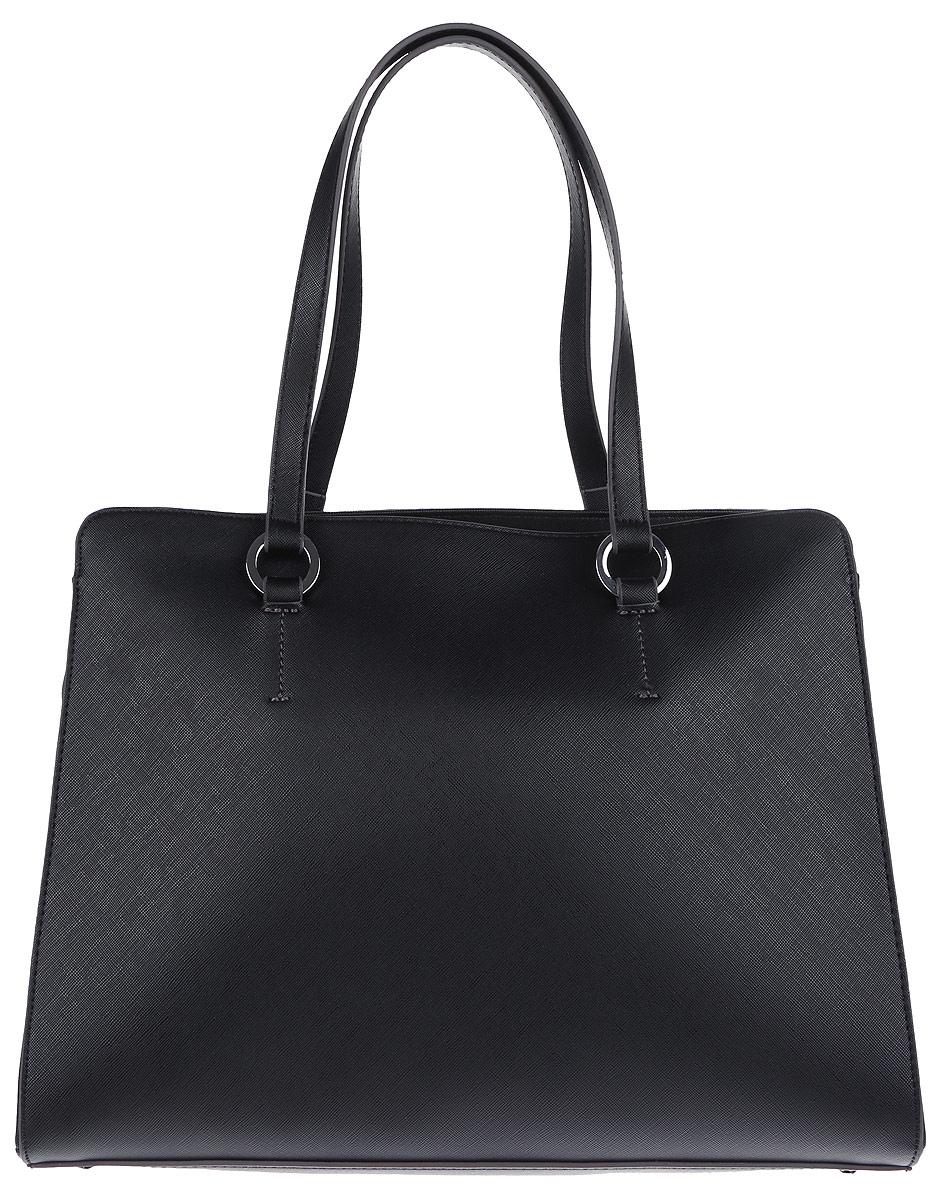 Сумка женская United Colors of Benetton, цвет: черный. 6GIVD1399_700 сумка женская