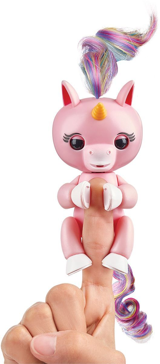 Fingerlings Интерактивная игрушка Единорог Гемма цвет розовый - Интерактивные игрушки