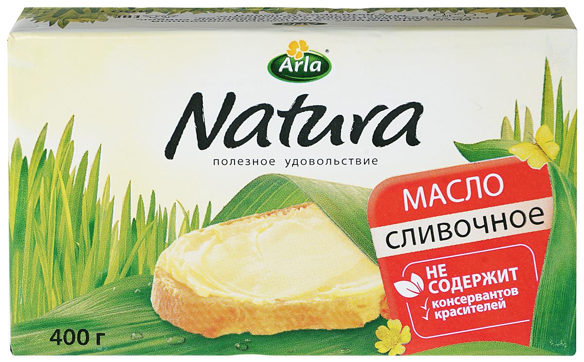 Arla Natura Масло Сливочное, 82%, 400 г hansdorf масло сливочное 82% 400 г