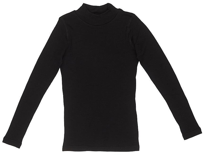 Термобелье водолазка детская Dr. Wool, цвет: черный. DWKL308CN. Размер 104/110DWKL308CNОднослойная водолазка из шерсти мериноса защитит от охлаждения и перегрева и станет отличным дополнением к гардеробу ребенка не только в холодное время года. Ее можно использовать самостоятельно или как первый слой одежды. Водолазку легко сочетать с повседневной одеждой или школьной формой. Удобный воротник-стойка защищает шею и не создает лишнего объема. Кроме того, шерсть мериноса содержит природный ланолин, который препятствует размножению бактерий и исключает неприятные запахи. Благодаря уникальной обработке Total Easy Care, изделие можно стирать в стиральной машине.