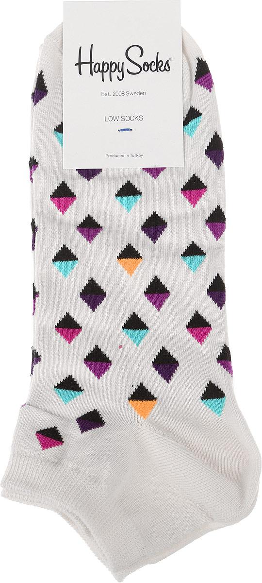 Носки мужские Happy Socks Low, цвет: разноцветный. MDI05_1000. Размер 29 (41/46)MDI05_1000