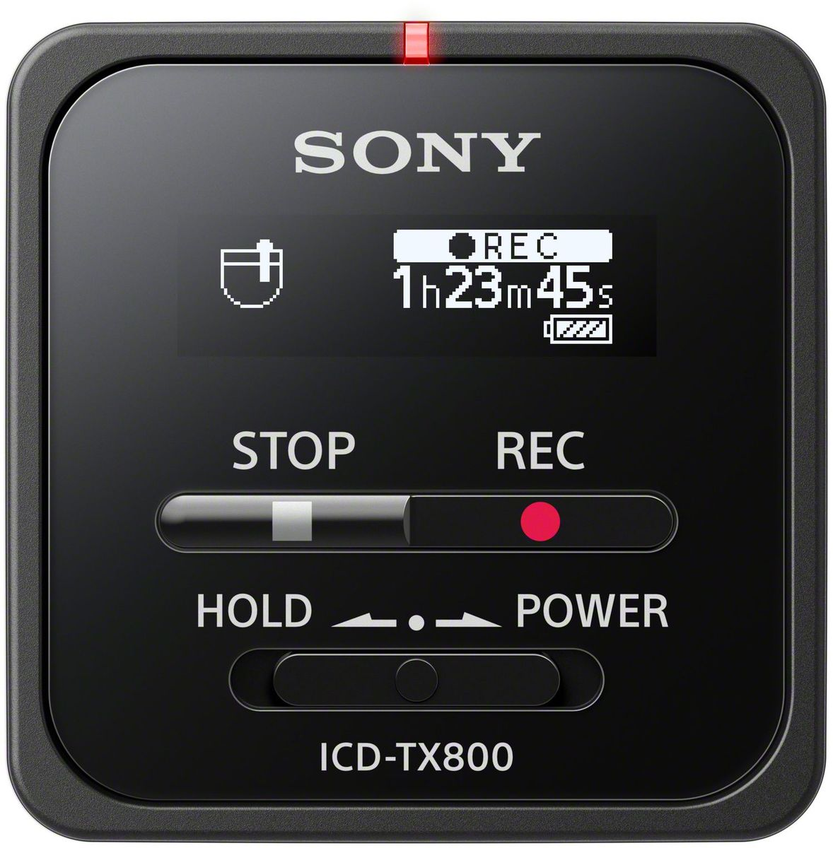 Sony ICD-TX800, Black диктофон