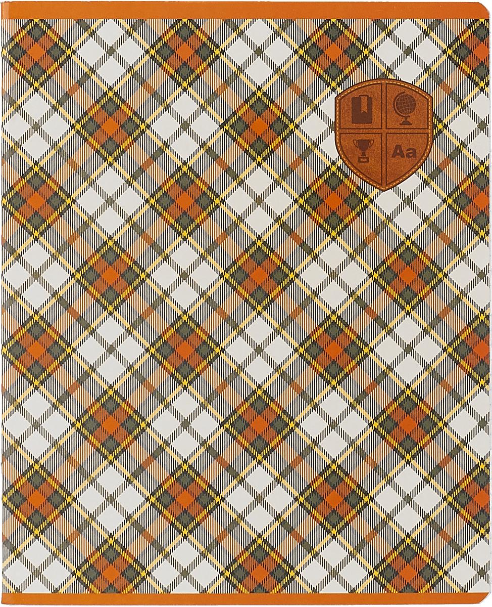 Феникс+ Тетрадь Шотландка 48 листов в клетку цвет коричневый серый44531_коричневый, серыйФеникс+ Тетрадь Шотландка 48 листов в клетку цвет коричневый серый