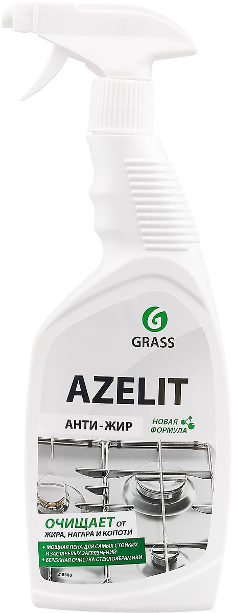 Чистящее средство для кухни Grass Azelit, анти-жир, щелочное, 600 мл средство чистящее techpoint powerclean для очистки плит и духовых шкафов 500 мл