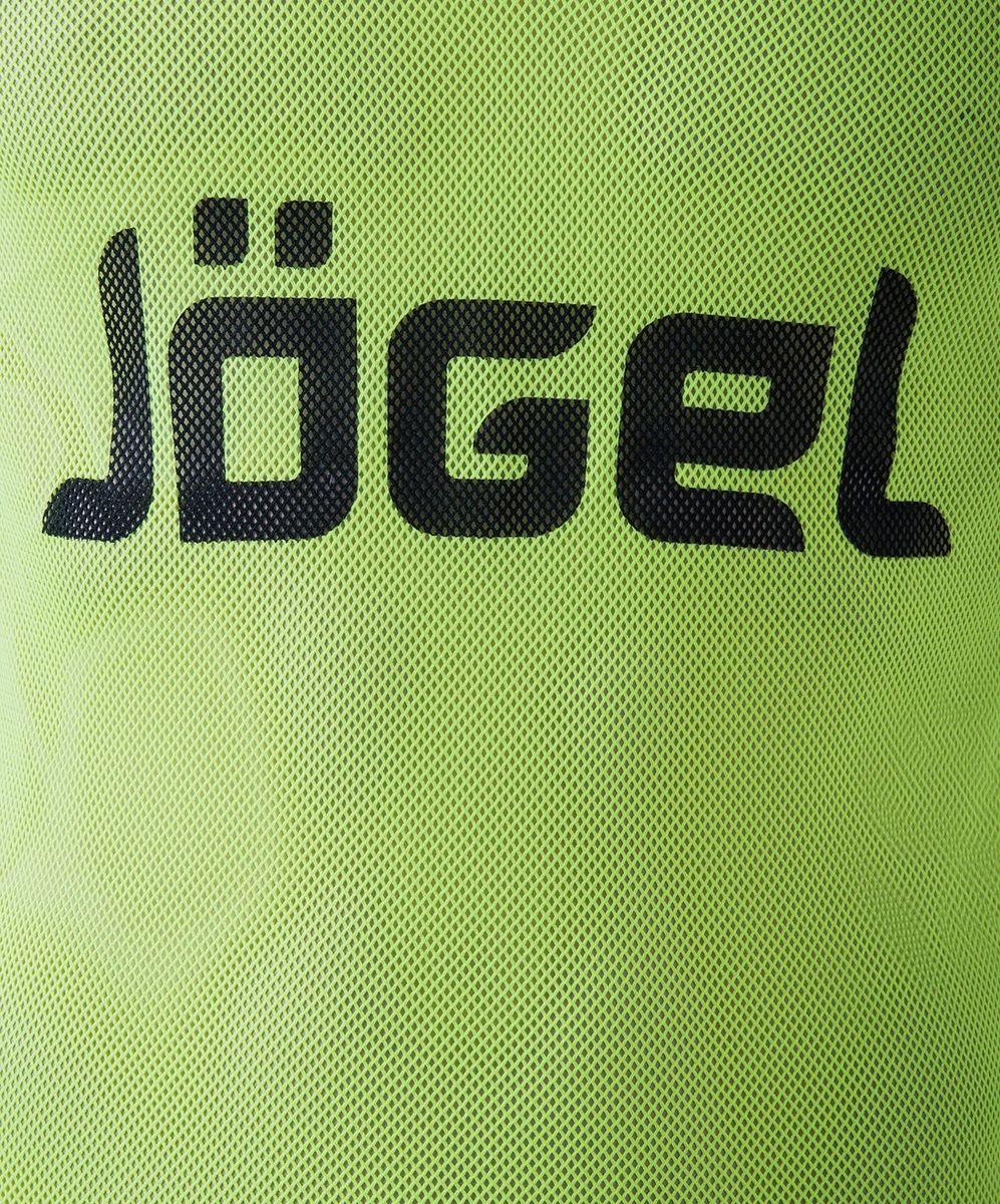 Манишка футбольная мужская Jogel, цвет:  лимонный.  JBIB-1001.  Размер 48/50 Jogel