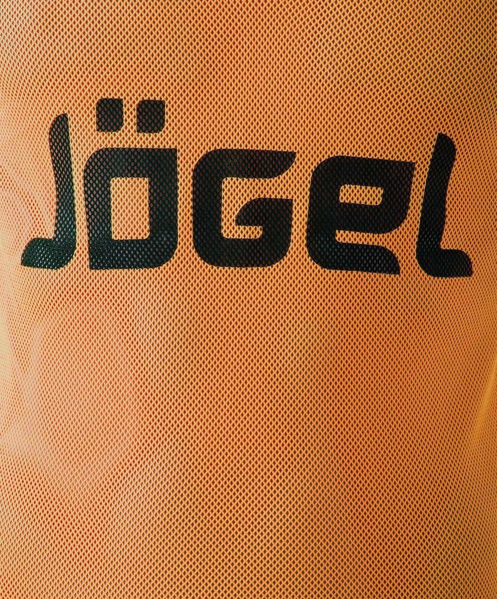 Манишка футбольная для мальчика Jogel, цвет:  оранжевый.  JBIB-1001.  Размер 140/152 Jogel