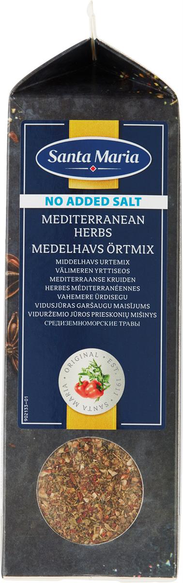 Santa Maria Средиземноморские травы без соли, 340 г santa maria чили порошок 430 г