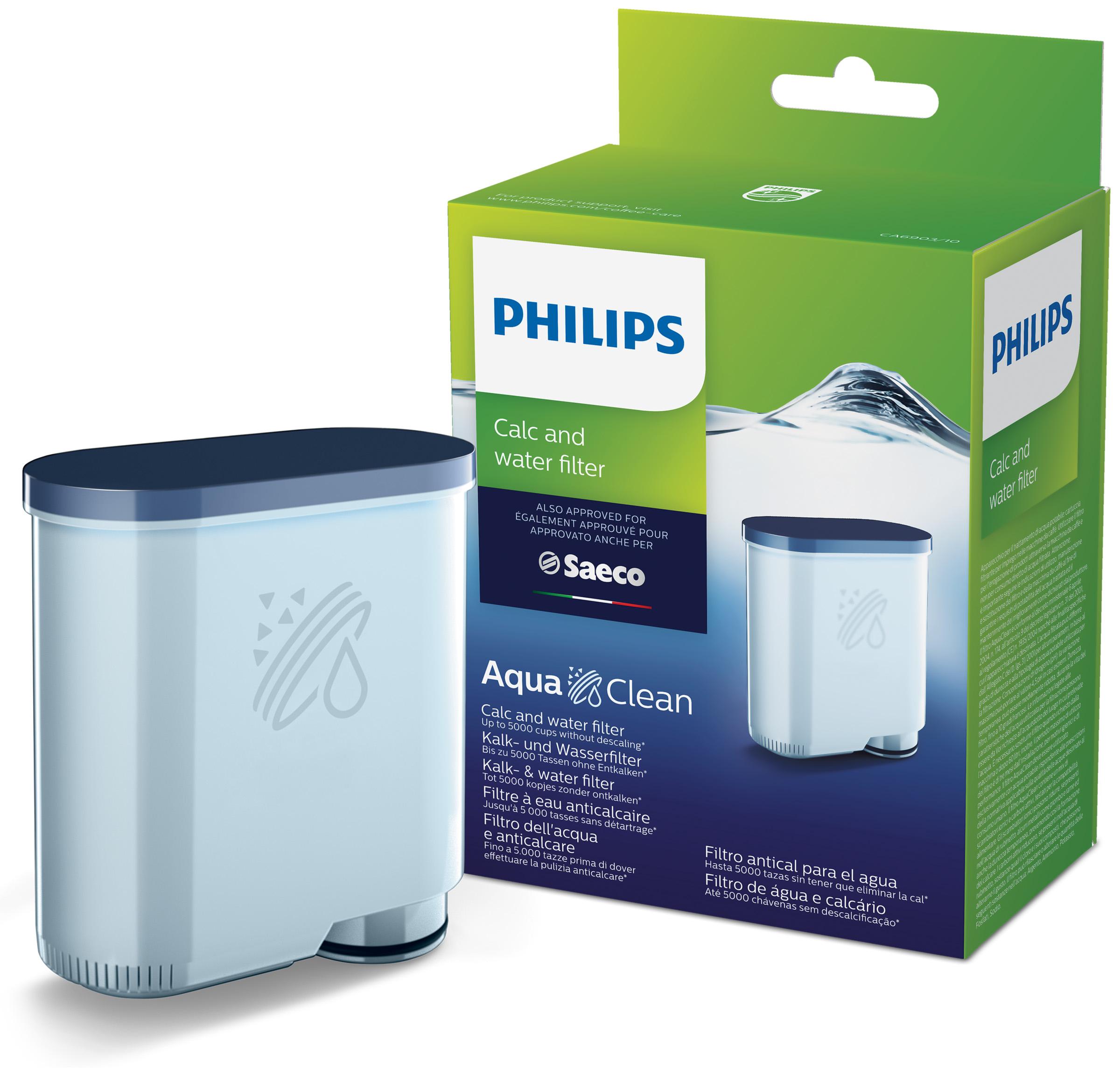 Philips CA6903/10 AquaClean фильтр для воды для кофемашины propre p010 ac4147 в дополнение к фильтру фильтра формальдегида philips фильтр для очистки воздуха для ac4076 ac4014 ac4016