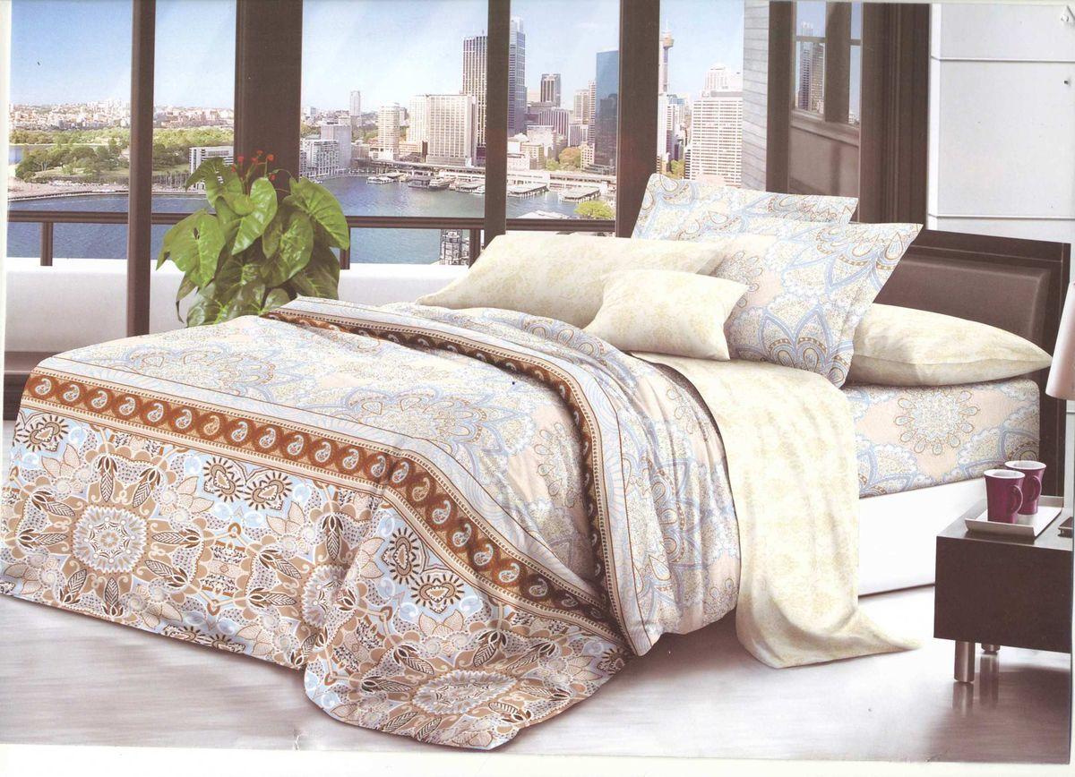 Комплект белья Soft Line, 1,5 спальный, наволочки 50x70. 06120 комплект белья soft line 2 х спальный наволочки 50x70 06121