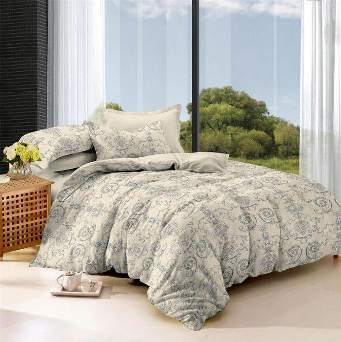 Комплект белья Soft Line, семейный, наволочки 50x70. 0612706127Постельное белье SL из сатина с декоративной отделкой.