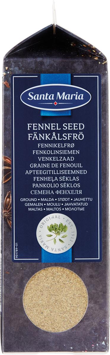 Santa Maria Семена фенхеля молотые, 300 г101178Натуральный продукт высочайшего качества.