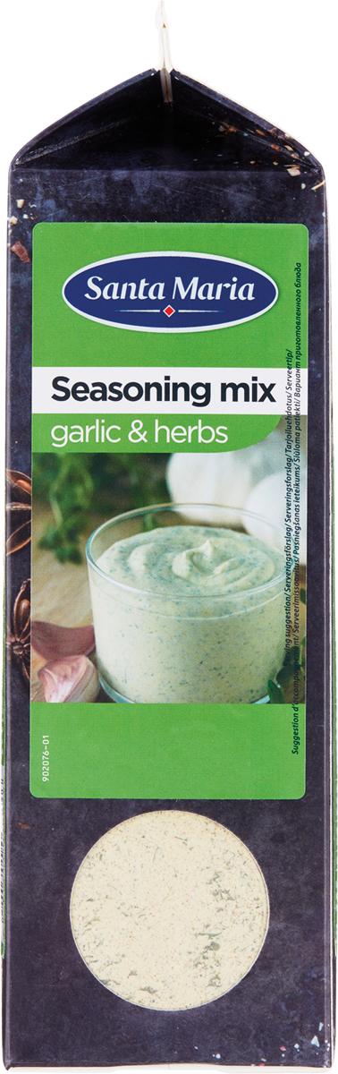 Santa Maria Приправа чеснок и травы, 575 г101284Натуральный продукт высочайшего качества. Смесь для приготовления Оригинального соуса.