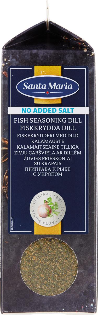 Santa Maria Приправа к рыбе с укропом без соли, 320 г цена 2017