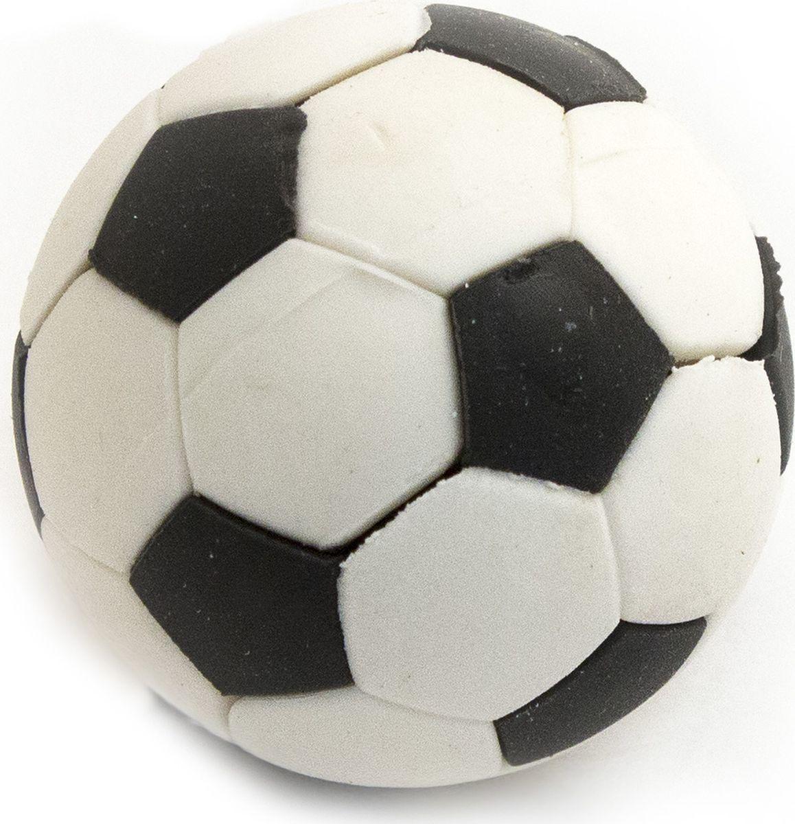 Ластик-пазл Футбол Ластик в форме футбольного мяча на самом деле представляет собой не только канцелярское приспособление, но и небольшой конструктор, собирающийся воедино из трёх частей. Разобрав ластик на грани, удобно стирать элементы, требующие тонкой работы, а собранным круглым мячиком хорошо манипулировать там, где требуется охватить сразу большую площадь чертежа или рисунка. Материал: полирезина Упаковка: блистер на картоне Размер (см):4,5x4,5x4,5 Размер упаковки (см):11x8,5x4 Bec : 80 граммов