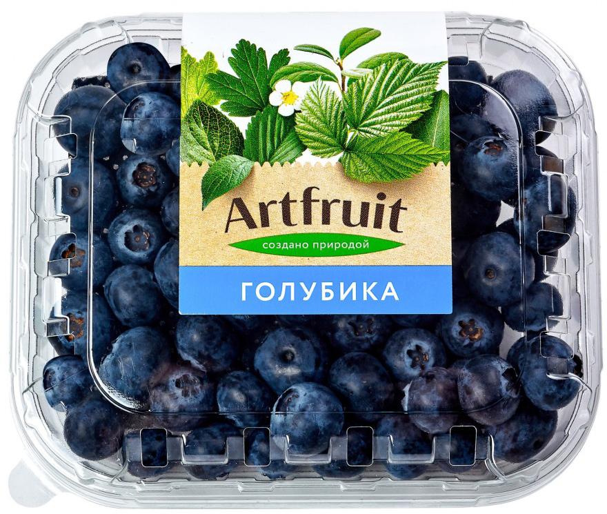 Artfruit Голубика свежая, 125 г merci crocant конфеты 125 г