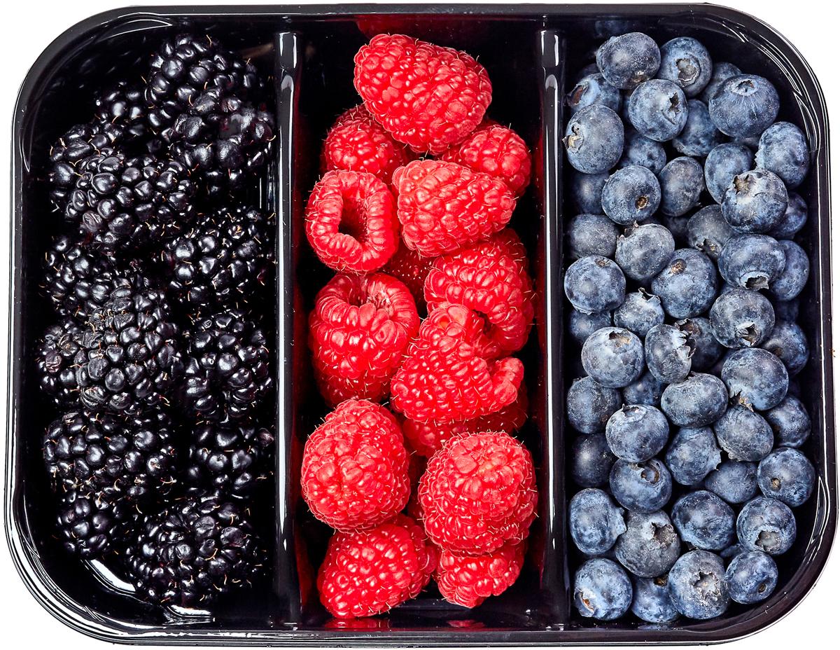 Artfruit Ягодный микс Голубика, Малина, Ежевика, 300 г протеин prime kraft whey малина 500 г