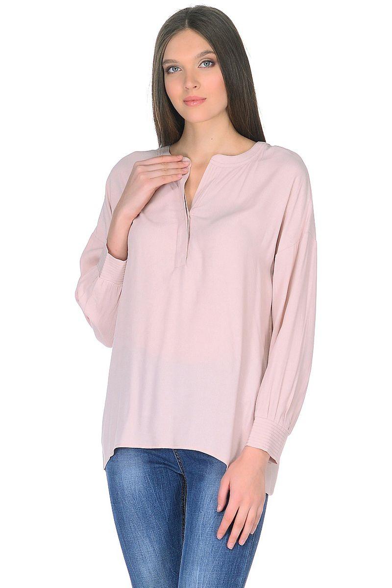 Купить Блузка женская Baon, цвет: розовый. B178006_Lotus. Размер M (46)