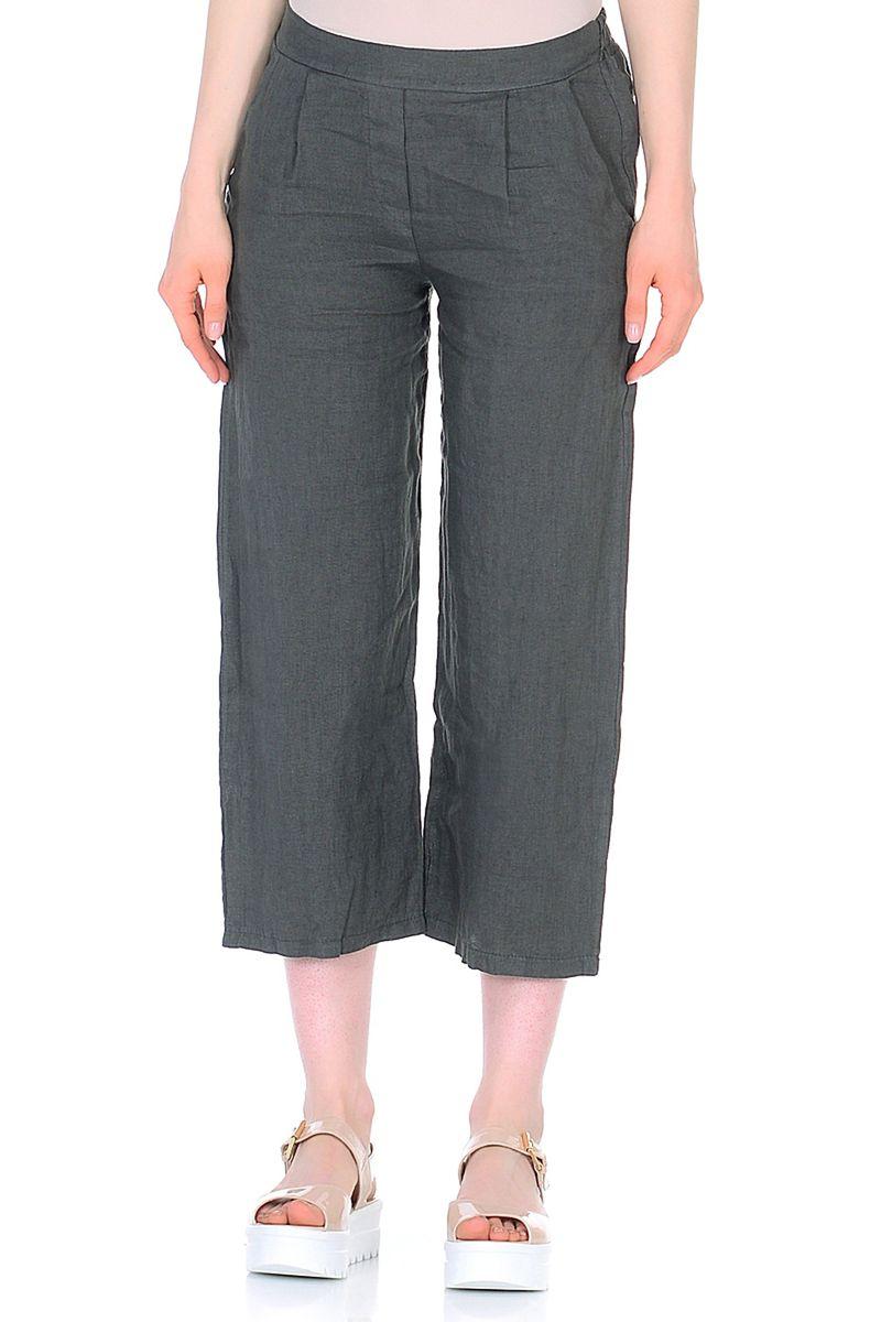Купить Брюки женские Baon, цвет: серый. B298036_Asphalt. Размер M (46)