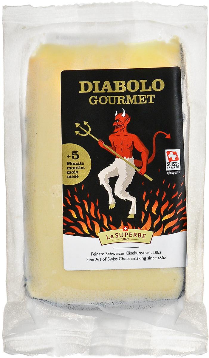 Le Superb Сыр Диаболо-Гурме, 200 г le superb сыр шато хайтенрид 200 г