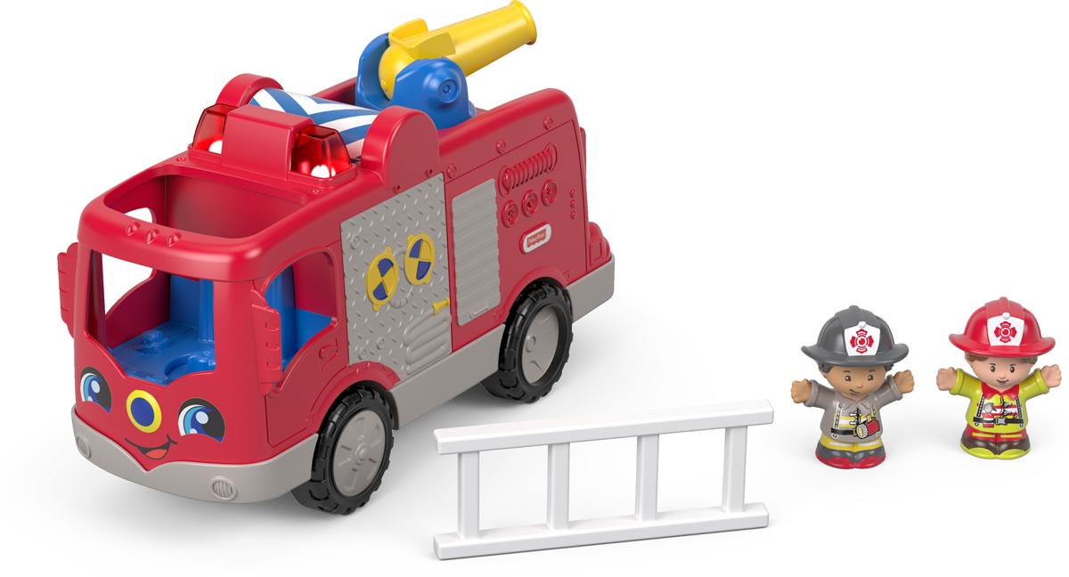 Little People Пожарная машина Помогаем другим