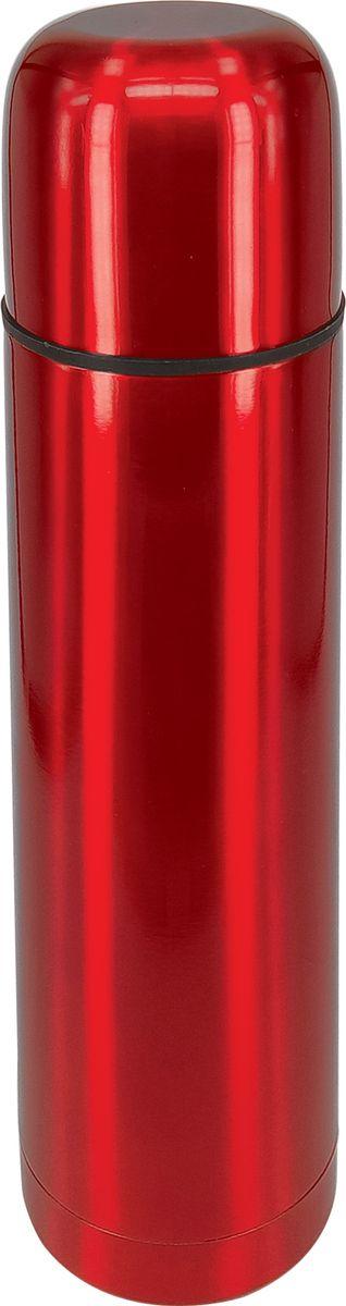 Термос Irit Home, цвет: красный, 0,75 л. IRH-134IRH-134Термос из нержавеющей стали. Емкость 0, 75л, сохранение тепла 24 часа, холода 24 часа, корпус из нержавеющей стали, двойная вакуумная теплоизоляция стенок корпуса, ненагревающаяся крышка-стакан с пластиковой термостойкой вставкой, теплосберегающая пробка с клапаном, предохраняющим от разливания.