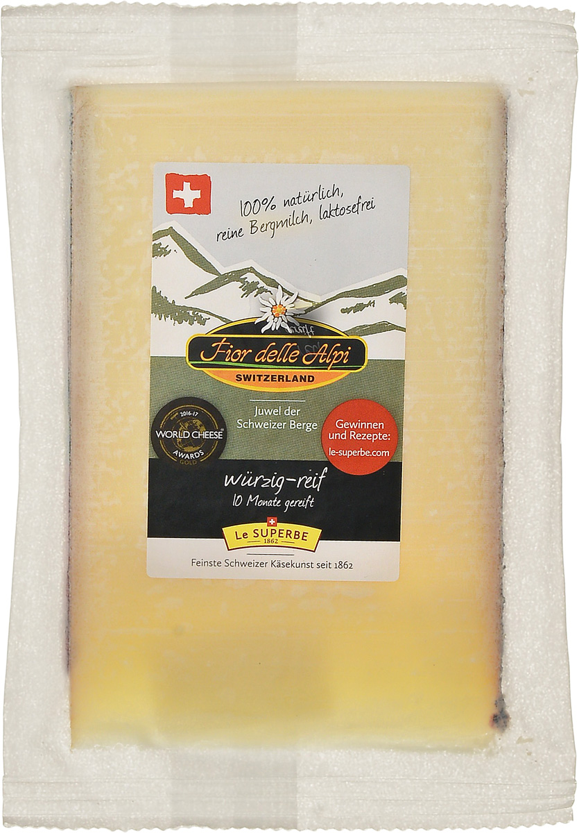 Le Superb Сыр Фьор делле Альпи, 200 г le superb сыр диаболо гурме 200 г