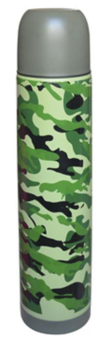 Термос Irit Home, цвет: хаки, 0,5 л. IRH-130 [jingdong супермаркет] термос термос 710ml стакан тлеющих guanmen высокого вакуума нержавеющей стали sk 3020 rd
