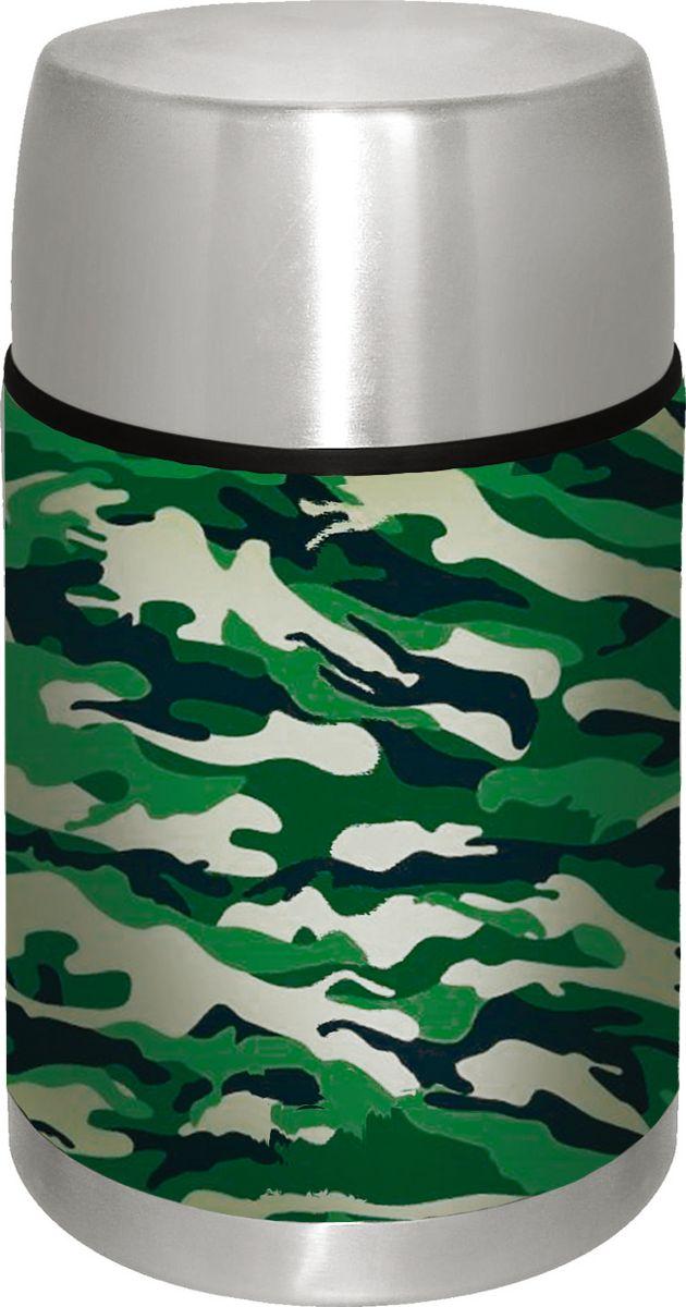 Термос Irit Home, цвет: хаки, 1 л. IRH-132 [jingdong супермаркет] термос термос 710ml стакан тлеющих guanmen высокого вакуума нержавеющей стали sk 3020 rd
