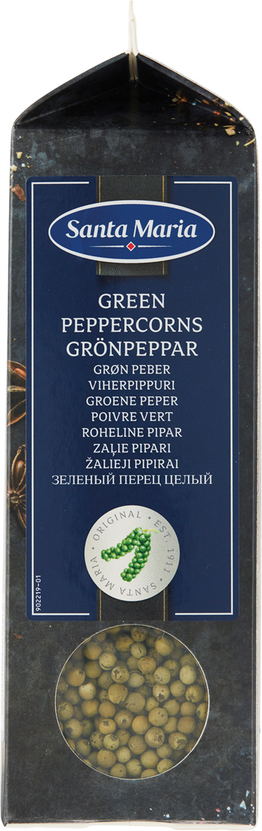 Santa Maria Зеленый перец целый, 165 г santa maria белый перец целый 550 г