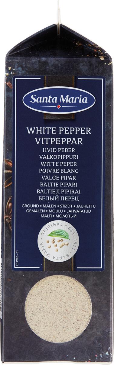 Santa Maria Белый перец молотый, 500 г santa maria белый перец целый 550 г